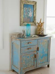 painted vintage furnitureHow to Distress Furniture  HGTV