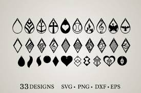 Browse 50 vector icons about light term. 18 Earring Cut File Designs Graphics