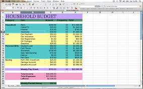 Budget Samples Household Home Budget Spreadsheet How To Make Excel Simplely Worksheet Example