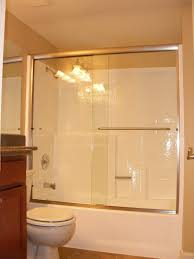 bathtub sliding glass doors. How To Install A Shower Door On Bathtub Large Sliding Glass Combined With Silver Steel Towel Handler Plus White Tub The Wall Room Doors