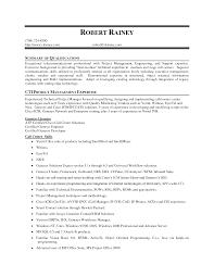 Useful Job Resume Career Summary In Professional Qualifications On