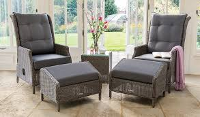 classic recliner with footstool