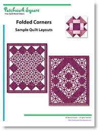 Folded Corners - Free Quilt Block Pattern & Check out other