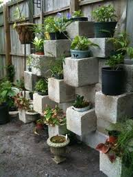 Would you use cinder blocks in your backyard