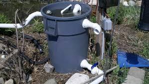 fish ponds and waterfalls filter technorati tags pond watergarden biofilter gardening