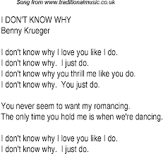 You Don T Know What Love Is Chart Top Songs 1931 Music Charts Lyrics For I Dont Know Whybk