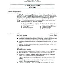 Army Veteran Resume Template A Good Resume Example
