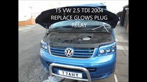 how to and replace the glow plug relay on a t tdi how to and replace the glow plug relay on a t5 2 5tdi volkswagen