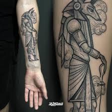 анубис значение татуировок в россии Rustattooru