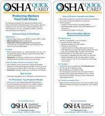 Osha Cold Stress Chart Cold Stress Keeping Safe In Californias Winter Weather Nes