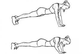 diamond push ups biceps and triceps workout without weights