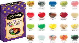 Harry Potter Jelly Bean Flavors Chart 34 Unfolded Bertie Botts Every Flavor Beans Chart