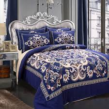 Brilliant Eastern King Bed Comforter Sets Bedding Queen Intended For Navy  Blue Queen Comforter Set ...
