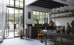 Small Picture Moody Industrial Meets Vintage Kitchen Design DigsDigs