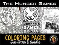 Small Picture The Hunger Games Coloring Pages Book Hunger games Gaming and Books