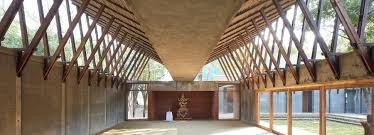 Community Centre Design In India Sameep Padora And Associates Jetavan Centre India