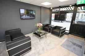 Estate agent office design King Price Dezeen Estate Agents Office
