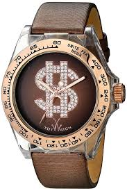 Toy Designer Watch Amazon Com Toy Watch Unisex D07br Analog Display Quartz