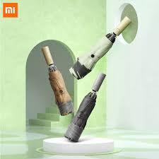 <b>Xiaomi Mijia Umbrella Automatic</b> Sunny Rainy Aluminum Windproof ...