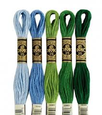 Dmc Cotton Embroidery Floss 8 Metre 8 7 Yard Skeins