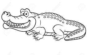 Small Picture Cartoon Alligator Coloring Pages Coloring Pages