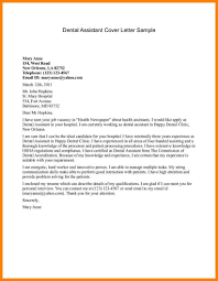 Cover Letter Examples For Medical Assistant 10 Medical Cover Letters For Resumes Proposal Sample