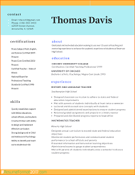 Cv Format For Teachers No Objection Letter From Company