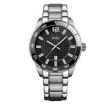 hugo boss watch 1512891 silver stainless steel black hugo boss watch 1512889 silver stainless steel black round dial men watch