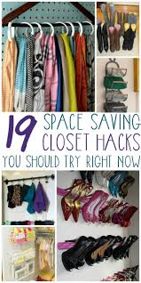 but even the smallest closets can be neat and organized with a few smart tricks from your scarves to your shoes here are 17 closet organization ideas to