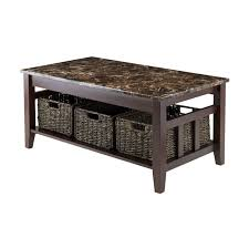 best faux marble coffee table