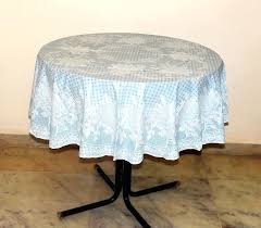 round vinyl tablecloth inch lace rose uk