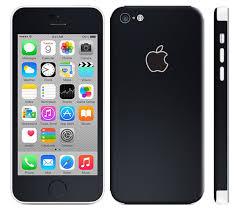 iPhone 5c Skin Decal Matt Matte Black 2048x v=