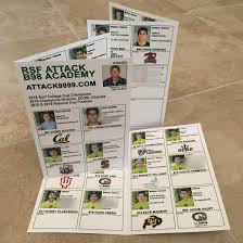 soccer team brochure template college showcases anatomy of the perfect recruiting flyer