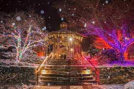 best holiday light displays in boston