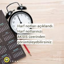 Harf notları açıklandı. Harf notlarınızı... - İstanbul Üniversitesi AUZEF