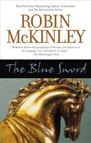 Teen book the blue sword