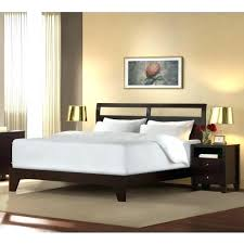 Low Headboard Beds Low Profile King Size Bed Frame Low Profile Queen ...