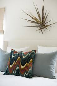 decorist sf office 15. Colorful Throw Pillow And Brass Wall Sculpture Decorist Sf Office 15 S