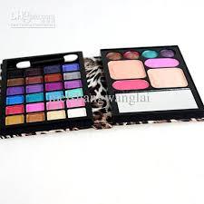 matte shadow eyeshadow blush 2 foundation small make up kit palatte 8825d