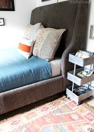 Cool teen boys bedroom makeover Teen Boy Bedroom Makeover Progress The New Bed The Inspired Room Teen Boy Bedroom Makeover Progress The New Bed The Inspired Room