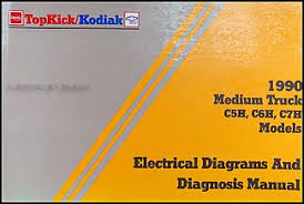 chevy kodiak gmc topkick wiring diagram manual original