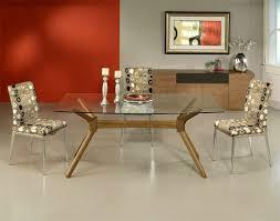 glass top dining table rectangular