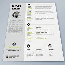 Best Resume Layout 18 Cv Template And Good On Pinterest