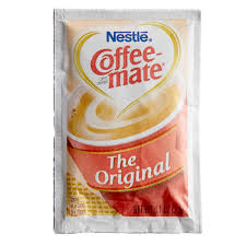Coffee creamers can sweeten and thicken your morning coffee without adding a lot of calories or cholesterol, but there are. Nestle Coffee Mate 3 Gram Original Powdered Creamer Packet 1000 Case