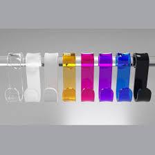 gancio box doccia in 2 formati diversi 7 colorazioni disponibili