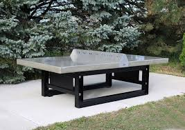 contemporary ping pong table outdoor for public spaces