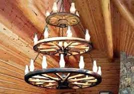 wagon wheel chandelier tiered how to make with mason jars