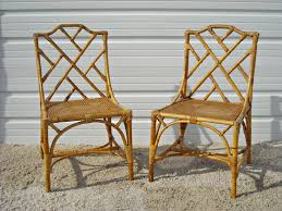 bamboo rattan chairs. Bamboo Rattan Chairs For Popular Vintage Chippendale By