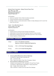 Sample Resume Mechanical Engineer Adorable Maintenance Sample Resume Socialumco