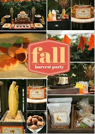 Thanksgiving harvest party decorations